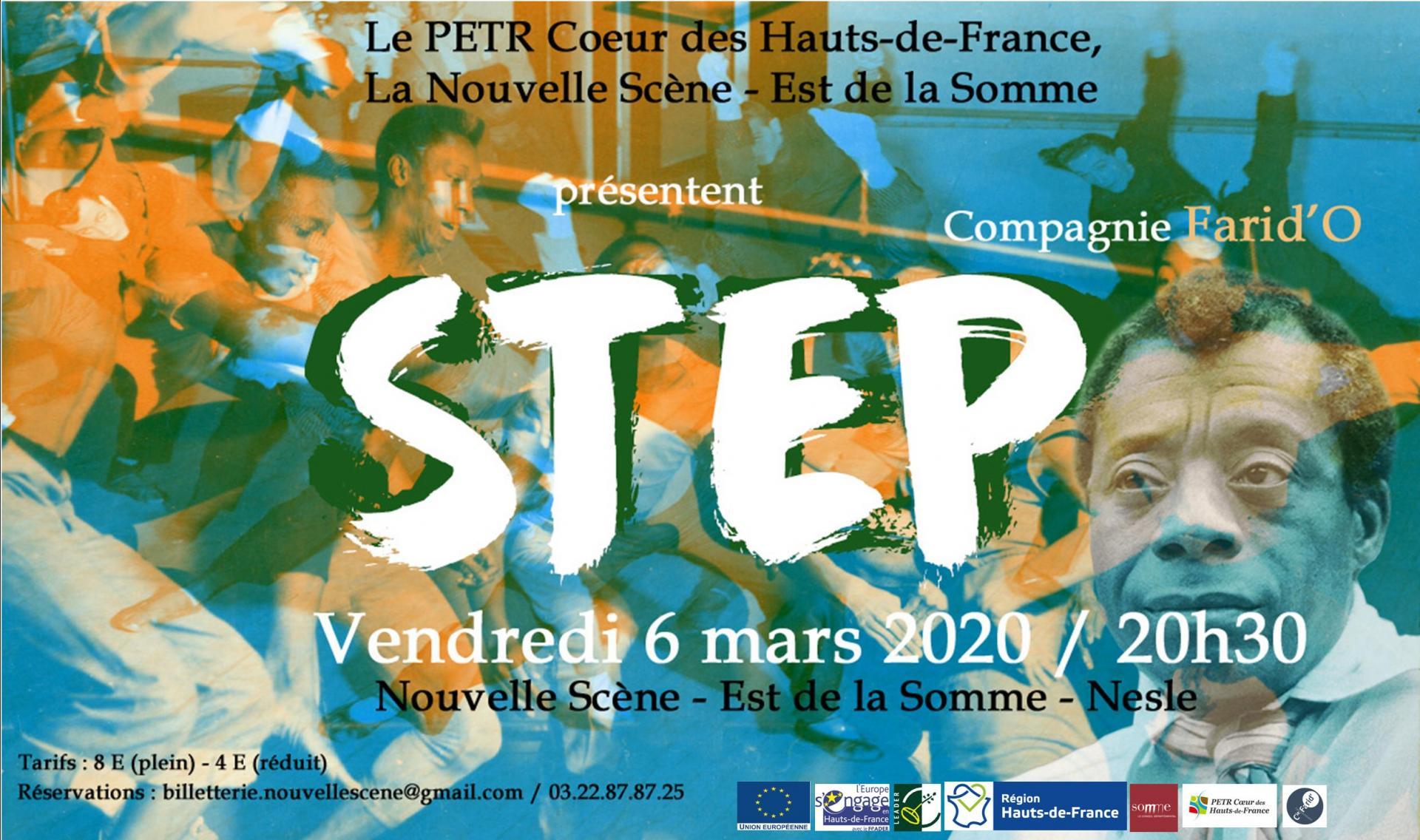 Affiche step def