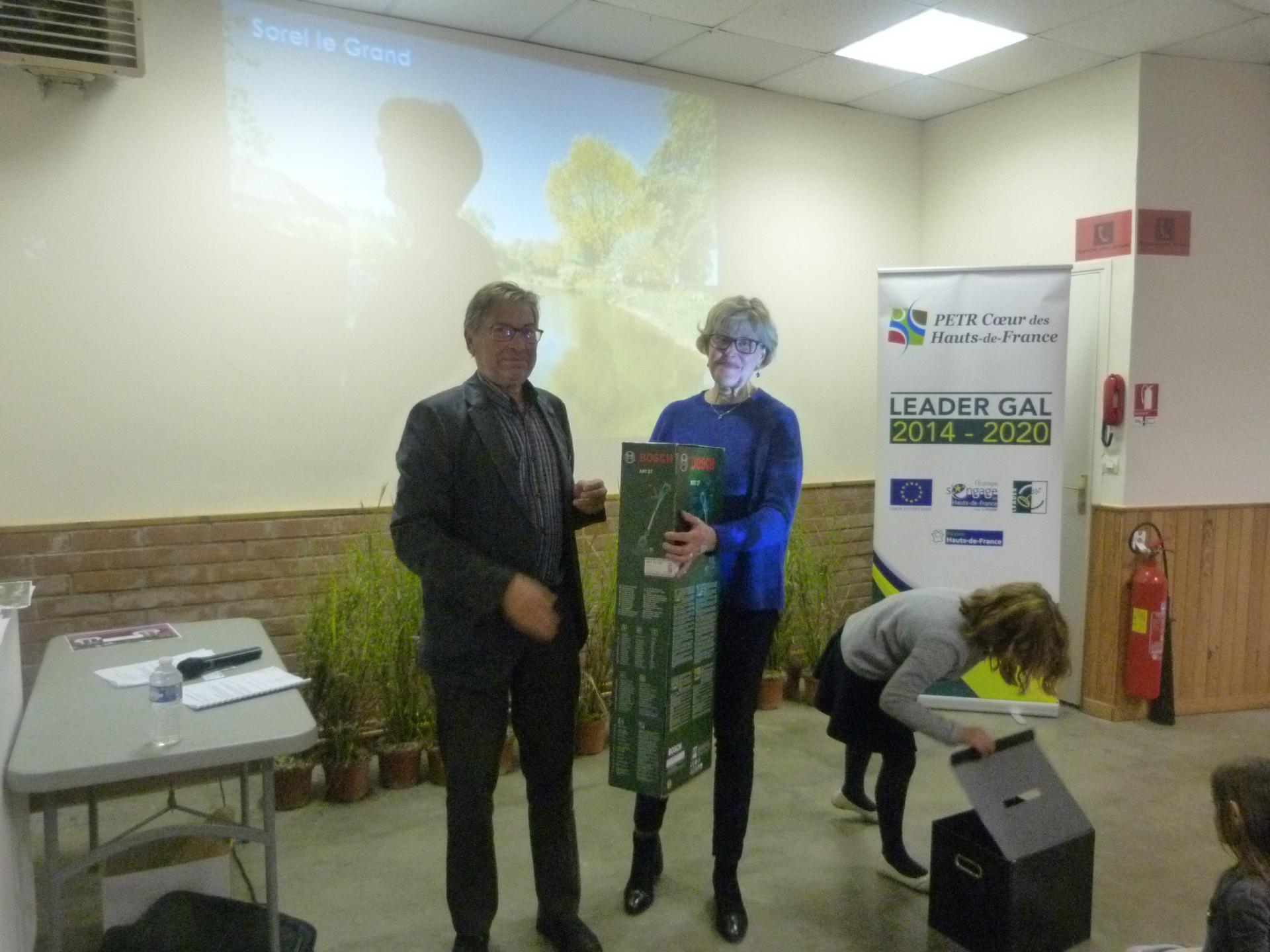 remise des prix 2018 à Quivières